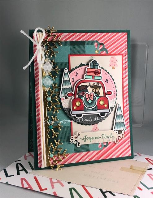 Car Critters Christmas Add-On_Fa La La_2
