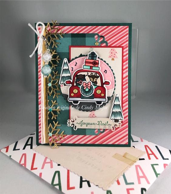 Car Critters Christmas Add-On_Fa La La_1