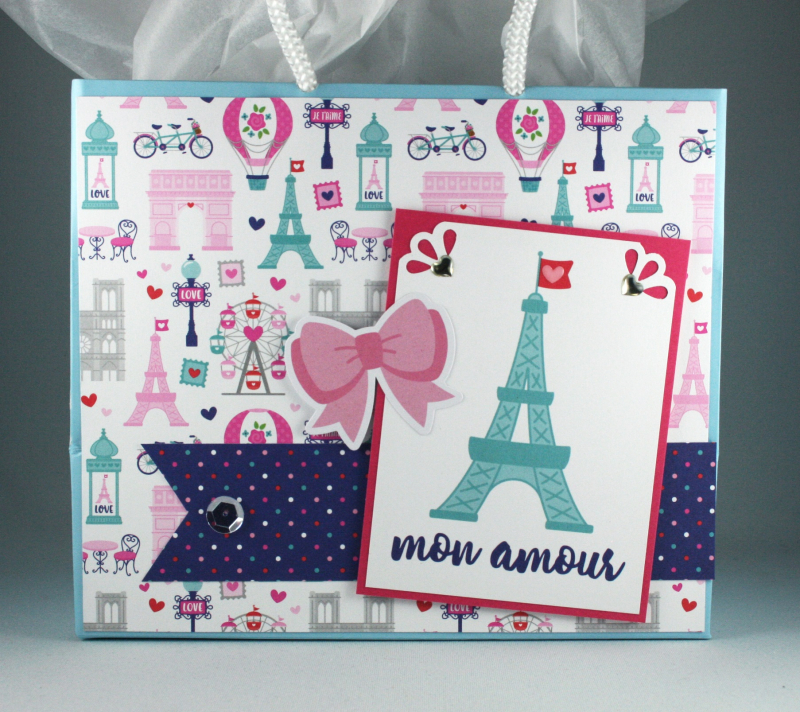 French Kiss Gift Bag 1