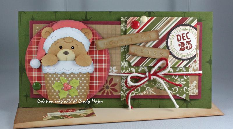 Santa Bear in Pot_Handmade Holidays_Cindy Major