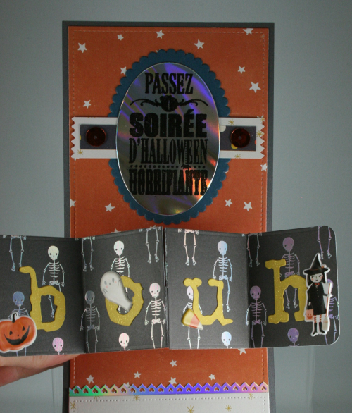 Hey Pumpkin_Doily_Halloween Card_Cindy Major