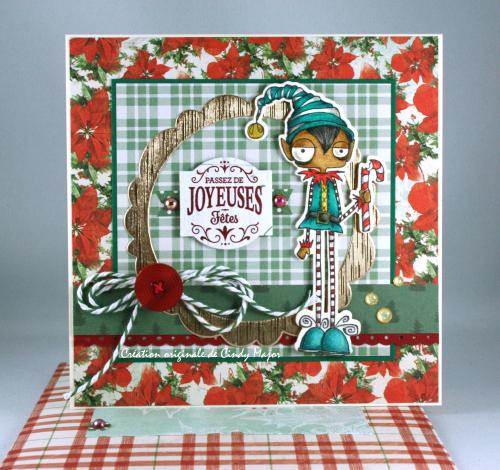 Oddball Elf Boy_Very Vintage Christmas Simple Stories_Cindy Major_2
