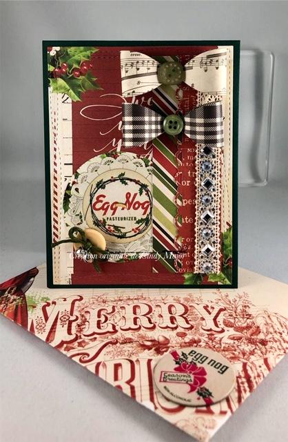 Simple Vintage Christmas_Milk Caps_Cindy Major