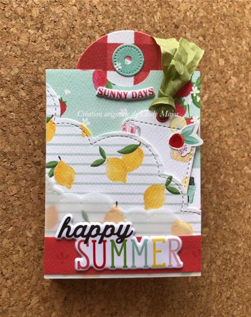 Mini Album Summer Market_1