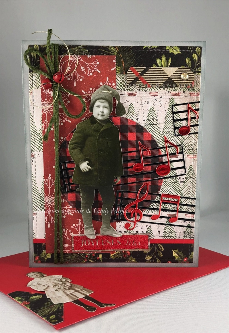 Paper Dolls_Christmas Tim Holtz_Christmas Gleaming_Cindy Major