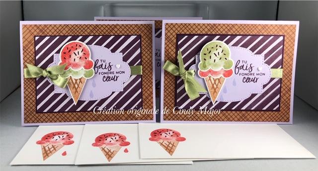 Sweet Ice Cream_Three Cards_Cindy Major