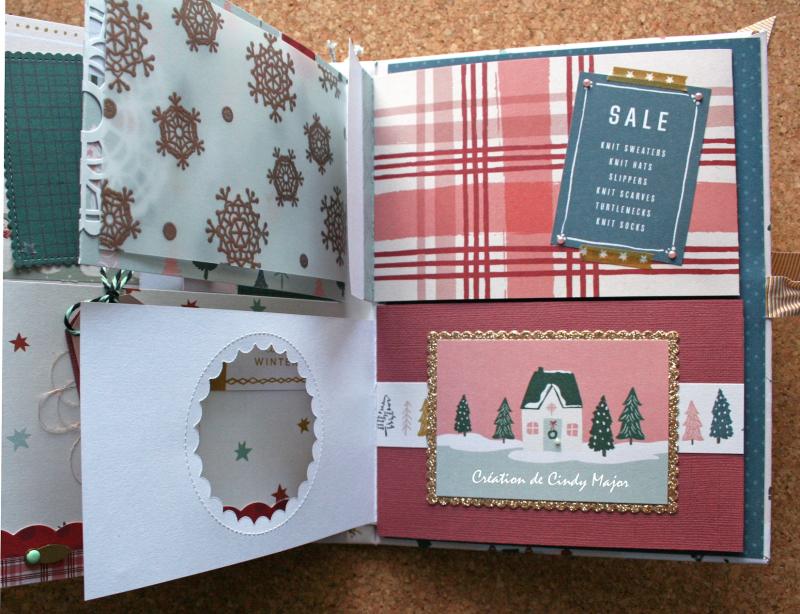 Snowflake Crate Paper Album_13