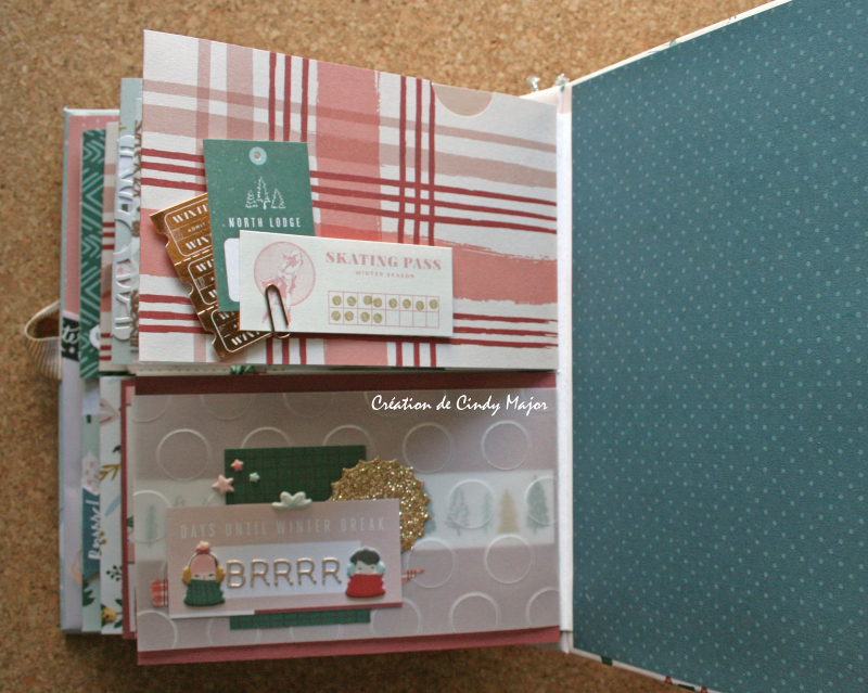 Snowflake Crate Paper Album_14