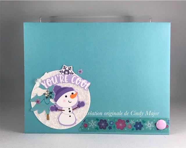 Snow Buddies_Winter Wonderland_Cindy Major_envelope