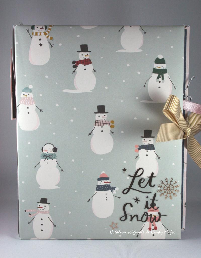 Snowflake Crate Paper Album_2