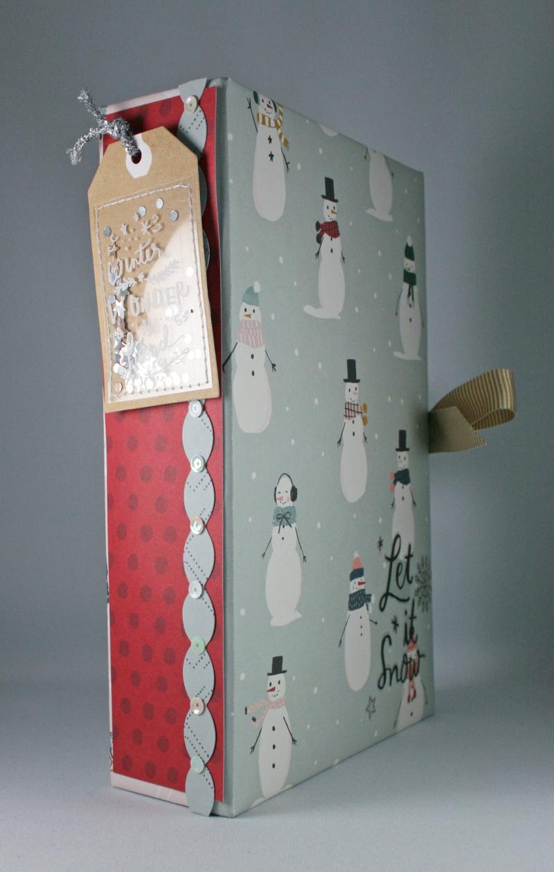 Snowflake Crate Paper Album_1