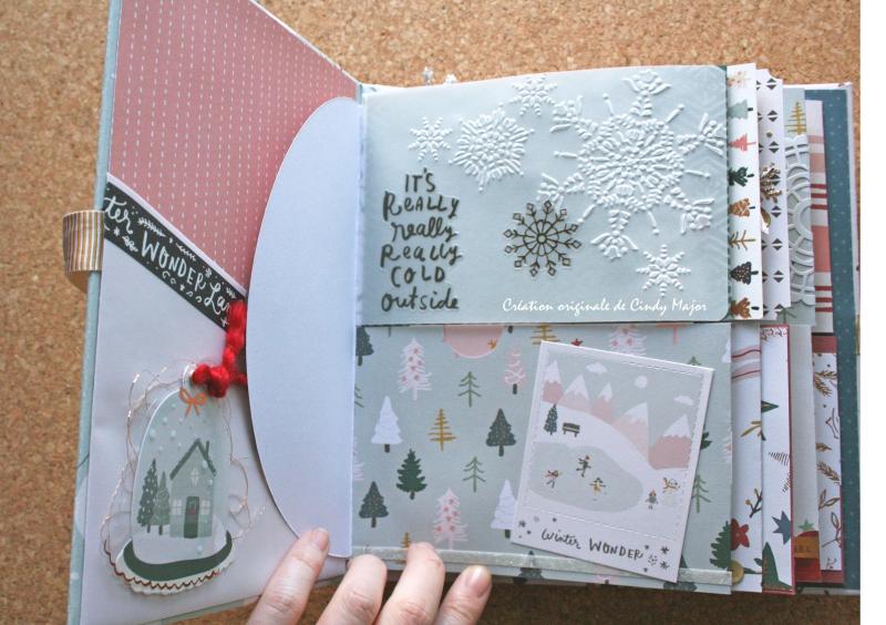 Snowflake Crate Paper Album_7