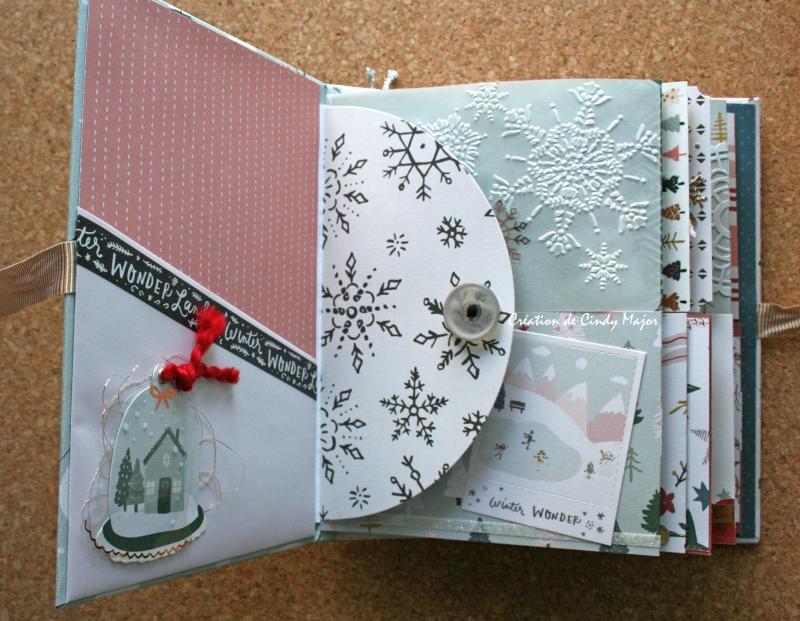 Snowflake Crate Paper Album_6