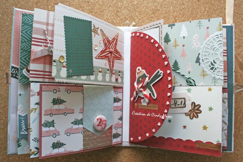 Snowflake Crate Paper Album_10