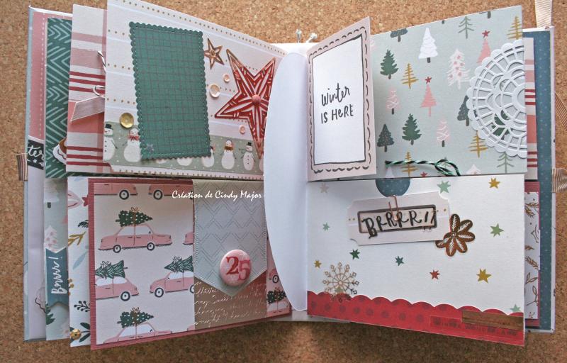 Snowflake Crate Paper Album_11