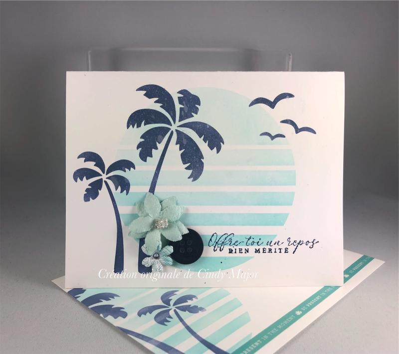 Retro Sun and Palms_Prima Flowers_Cindy Major