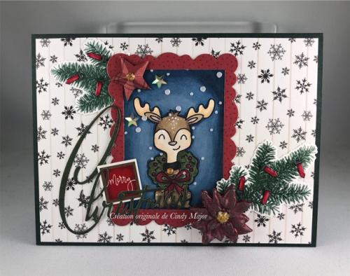 Christmas Critters_Home for Christmas_Cindy Major