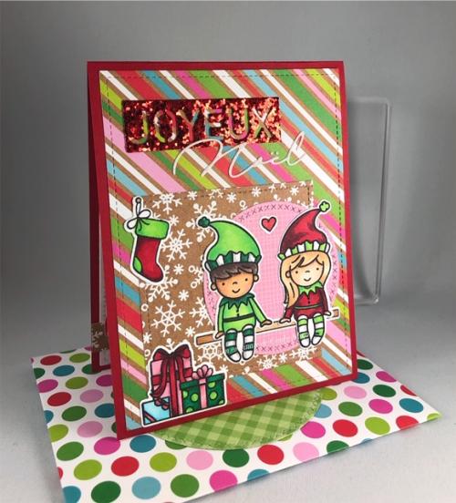 Elves and Their Shelves_Christmas Towb_Cindy Major